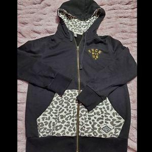 Crooks & Castle's zip up hoodie